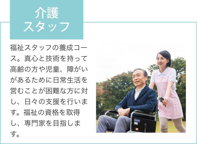 陽気株式会社 ココサポカレッジ福山 福祉コース 介護スタッフ